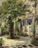 Interior of the Palm House at Potsdam, 1833-Karl Blechen-Giclee Print