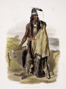 Abdih Hiddisch, a Minitarre Chief by Karl Bodmer