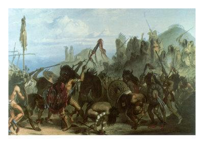 Bison Dance of the Mandan Indians, 1833