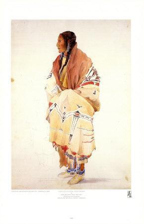 Chan-Cha-Uia-Teuin, Teton Woman
