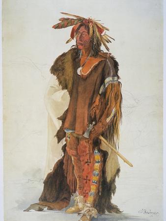 Wahk-Ta-Ge-Li, a Sioux Warrior