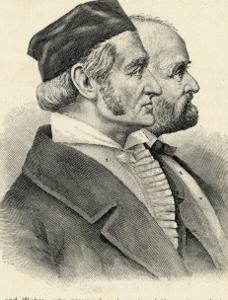 Karl Friedrich Gauss and Wilhelm Edvard Weber German Scientists