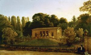 Country House for the Gabain-Family, Charlottenburg, 1822 by Karl Friedrich Schinkel