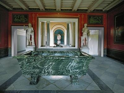 Interior of the Roman Baths in the Gardens of Sanssouci by Karl Friedrich Schinkel