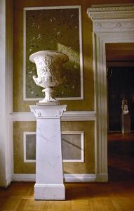 Neo-Classical Vase in the Sala Terrena of the Schinkel Pavillion by Karl Friedrich Schinkel