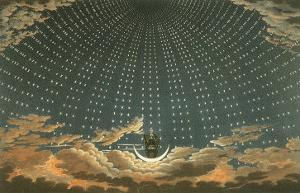 Night Queen with Stars, 1815 by Karl Friedrich Schinkel