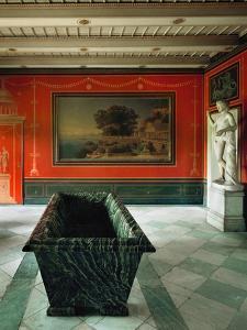 Roman Baths in the Gardens of Sanssouci, Charlottenhof Palace by Karl Friedrich Schinkel