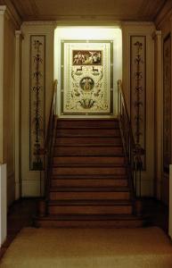 The Staircase in the Schinkel Pavillion Built for King Friedrich Wilhelm III by Karl Friedrich Schinkel