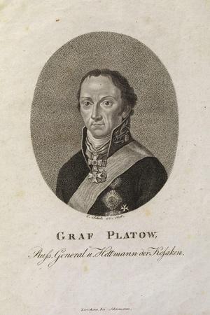 Portrait of Count Matvei Ivanovich Platov (1757-181)