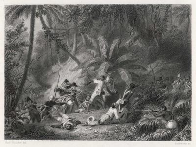 Haiti, San Domingo: Toussaint l'Ouverture is Defeated by the French at the Ravine aux Couleuvres