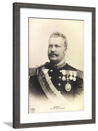 Karl I, König Von Portugal, Portrait, Npg 266 24--Framed Giclee Print