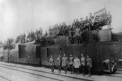 Armored Train No 12, 1919