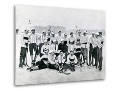 Ice-Hockey Team in St Petersburg, 1900s