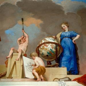 The Reign of Science, 1789-90 (Detail) by Karl Konrad Huber
