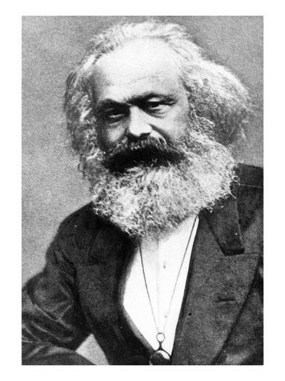 Karl Marx-Russian Photographer-Giclee Print