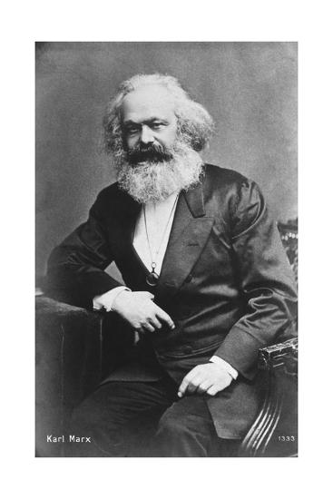 Karl Marx--Giclee Print