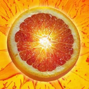 A Slice of Blood Orange by Karl Newedel