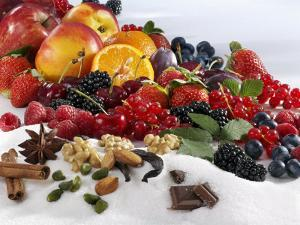 Assorted Fruit, Spices and Sugar by Karl Newedel