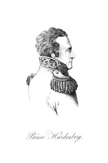 Karl Von Hardenberg--Giclee Print
