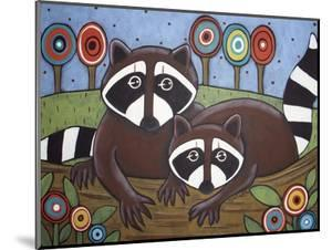 2 Raccoons by Karla Gerard
