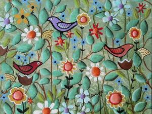 Birds and Blooms by Karla Gerard