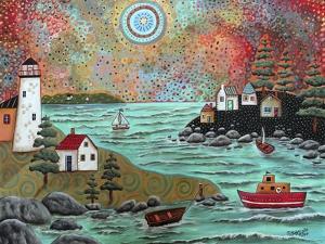 Blue Sea by Karla Gerard
