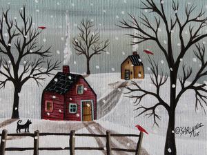 Red Birds 1 by Karla Gerard
