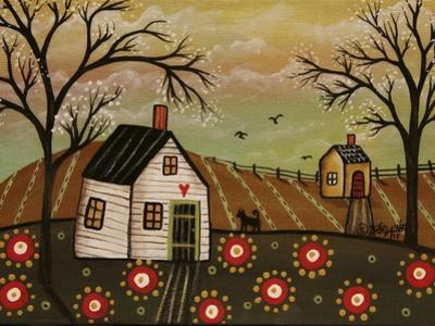 Red Flowers 1 by Karla Gerard