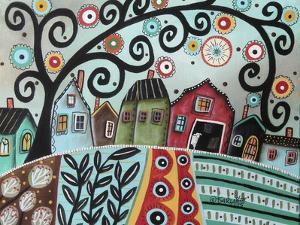 Rural Town 1 by Karla Gerard