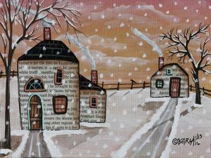 Snow Flurries 1 by Karla Gerard