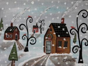 Snowy Sky by Karla Gerard