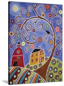 Swirl Tree House & Barn by Karla Gerard