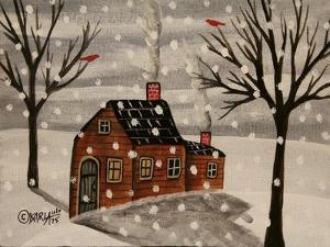 Winter Flurries by Karla Gerard