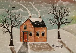 Winter House by Karla Gerard
