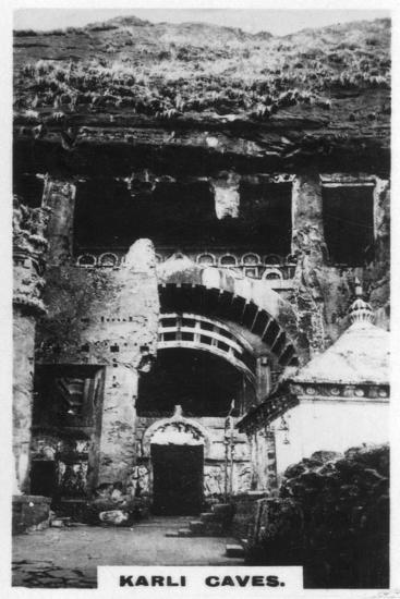 Karli Caves, India, C1925--Giclee Print