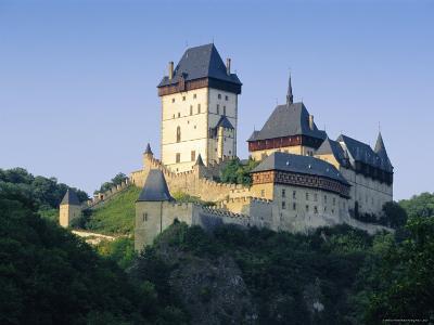 Karlstejn Castle, Central Bohemia, Czech Republic, Europe-Gavin Hellier-Photographic Print
