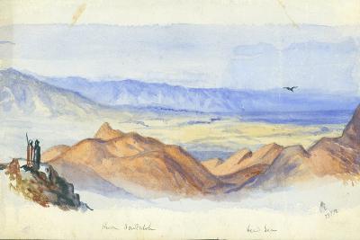Karn Sartabeh, Jordan Valley, 1872-Claude Conder-Giclee Print