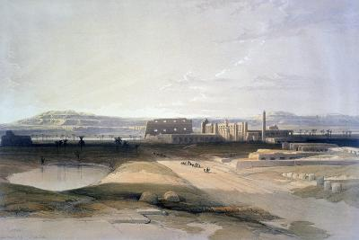 Karnac, 19th Century-David Roberts-Giclee Print