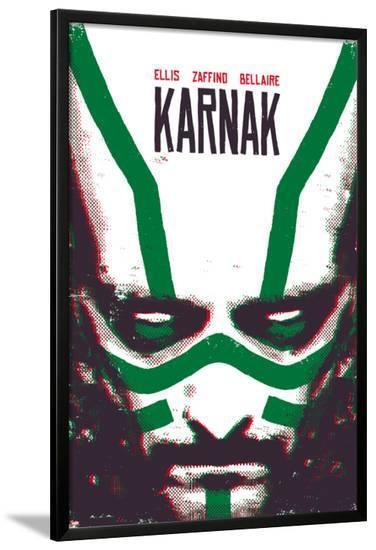 Karnak #1 Cover-David Aja-Lamina Framed Poster