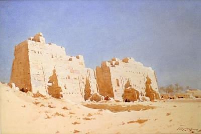 Karnak, 1897-1930-Augustus Osborne Lamplough-Giclee Print