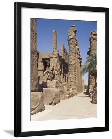Karnak Temple Complex, Precinct of Amun-Re, Great Hypostyle Hall, Third Pylon of Amenhotep III--Framed Giclee Print