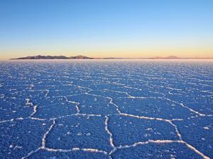 Bolivia, Potosi Department, Daniel Campos Province, View of the Salar de Uyuni, the largest salt fl by Karol Kozlowski