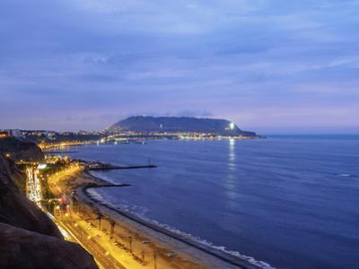 Coast of Miraflores District, Lima, Peru, South America by Karol Kozlowski