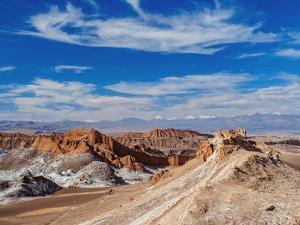 Valle de la Luna (Valley of the Moon), near San Pedro de Atacama, Atacama Desert, Antofagasta Regio by Karol Kozlowski