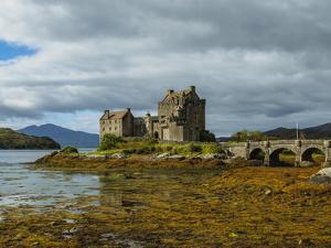 View of Eilean Donan Castle, Dornie, Highlands, Scotland, United Kingdom, Europe by Karol Kozlowski