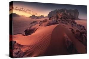 Red Sand Dune by Karol Nienartowicz