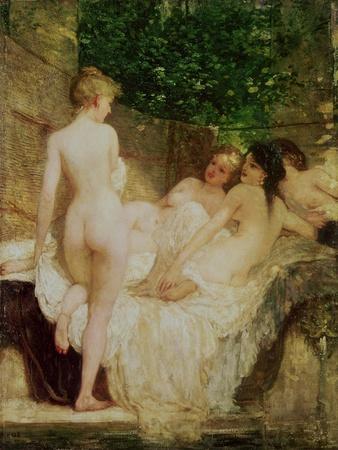 After the Bath, circa 1880