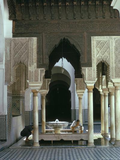 Karouine (Kairaouine) Mosque, Medina, Unesco World Heritage Site, Fez (Fes), Morocco-Sybil Sassoon-Photographic Print