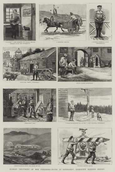 Karsakov and Other Convict Settlements in Saghalien--Giclee Print