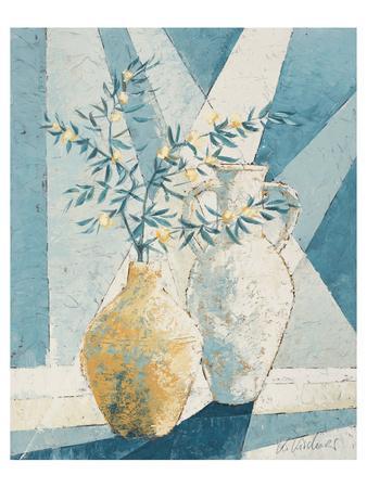 Flowering Olive Tree Branch